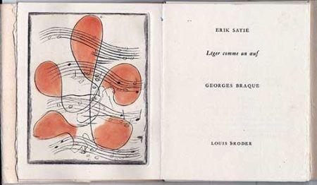 Libro Illustrato Braque - Léger comme un oeuf