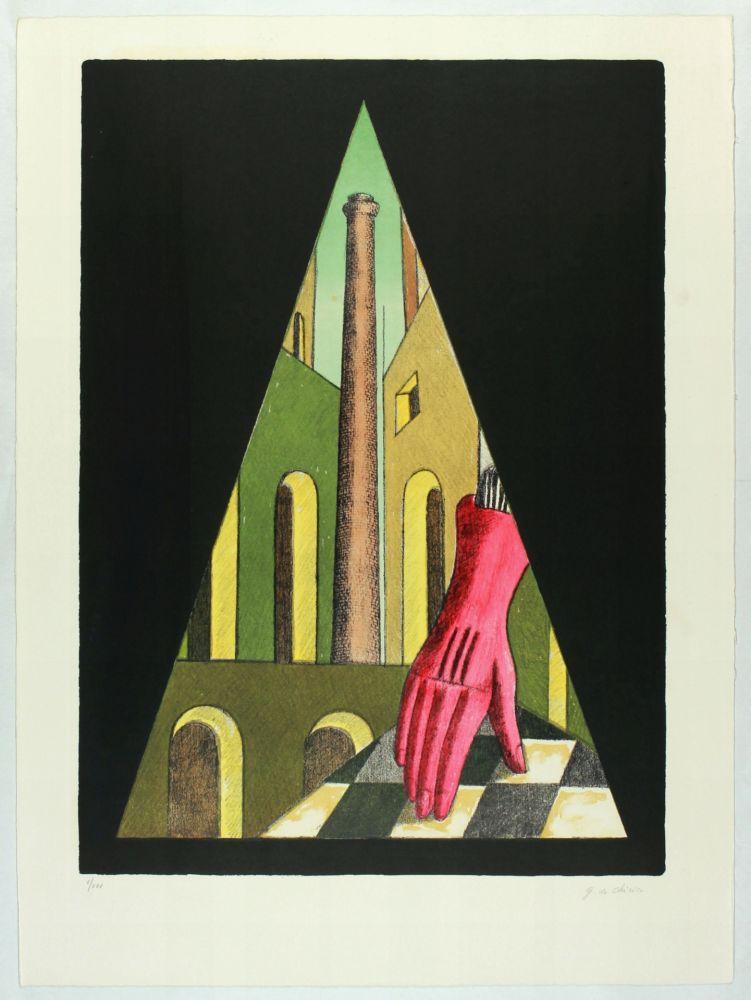 Litografia Chirico (De) - L'énigme de la fatalité