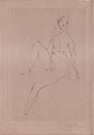 Libro Illustrato Fini - L'épouse infidèle.  Poemes.  Deux eaux-fortes originales de Leonor Fini.