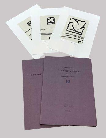 Libro Illustrato Alechinsky - L'été de nuit