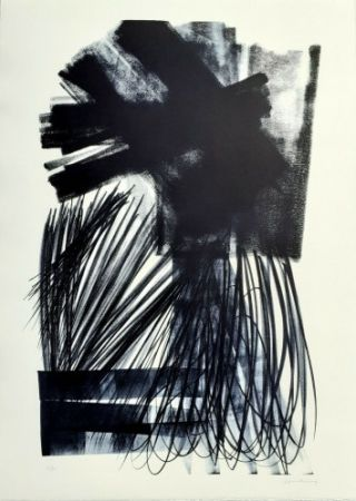 Litografia Hartung - L-17-1973,