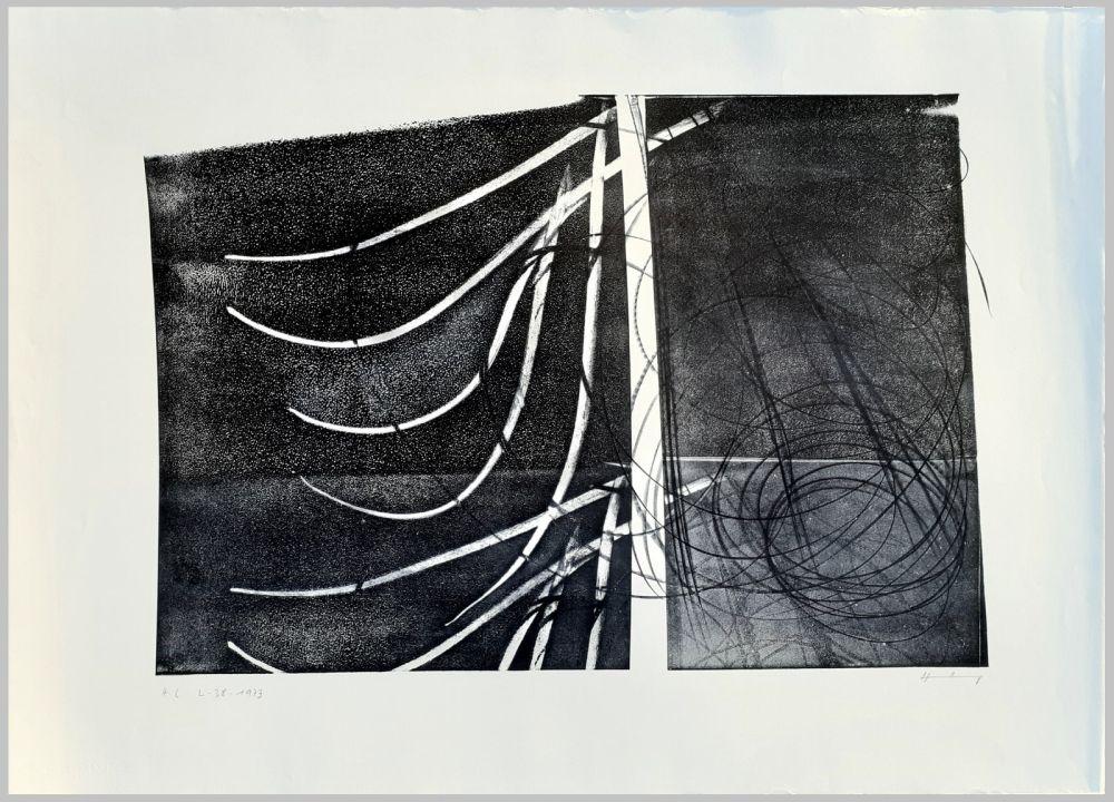 Litografia Hartung - L-38-1973
