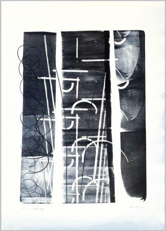 Litografia Hartung - L-49-1973
