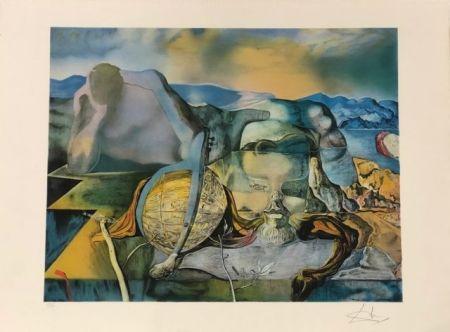 Litografia Dali - L' énigme sans fin
