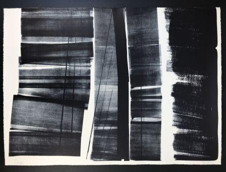 Litografia Hartung - L - 21 - 1974