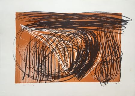 Litografia Hartung - L 1971-1