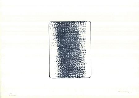 Litografia Hartung - L 1973-24
