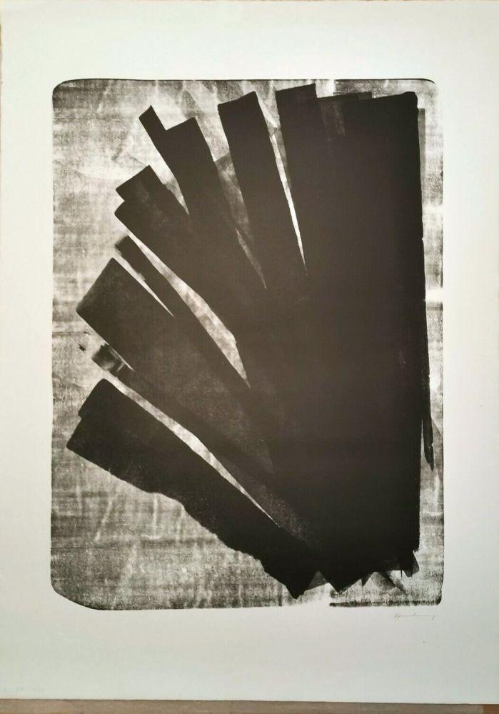 Litografia Hartung - L 1973-58, 1973
