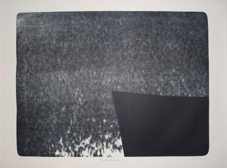 Litografia Hartung - L 1976-25:  Hommage à Eva Bergman