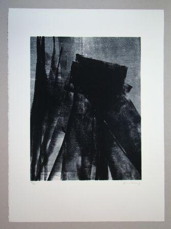 Litografia Hartung - L 1977 - 4