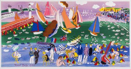 Litografia Dufy - LA BAIE DE SAINTE-ADRESSE (1935).