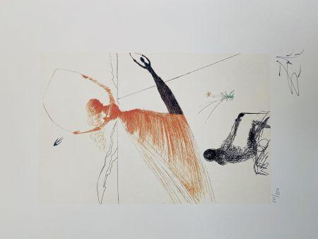 Litografia Dali - La Ballerina