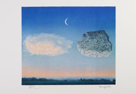 Litografia Magritte - La Bataille de Argonne