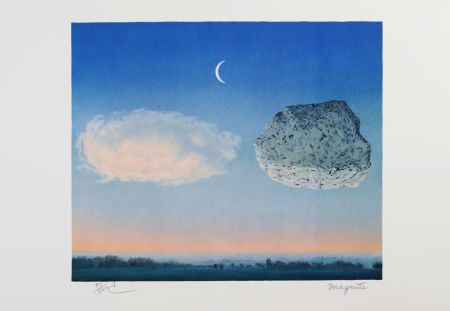 Litografia Magritte - La Bataille De L'Argonne (The Battle Of The Argonne)
