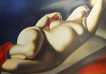 Serigrafia De Lempicka - La Bella Rafaela