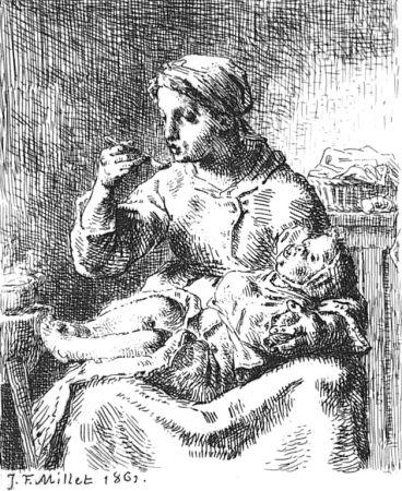 Acquaforte Millet - La Bouillie