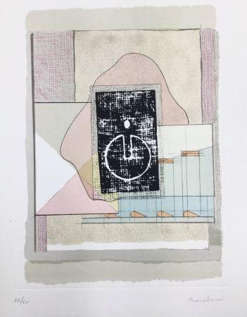 Litografia Bonalumi - La casa del vento