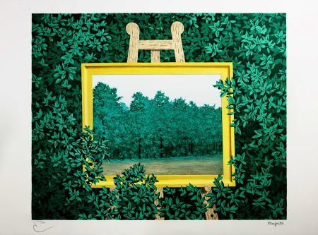 Litografia Magritte - La Cascade
