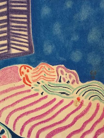 Non Tecnico Amiet - La Chambre à coucher (1919)