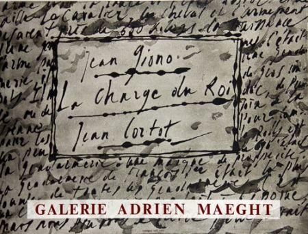 Litografia Cortot - La Charge du Roi