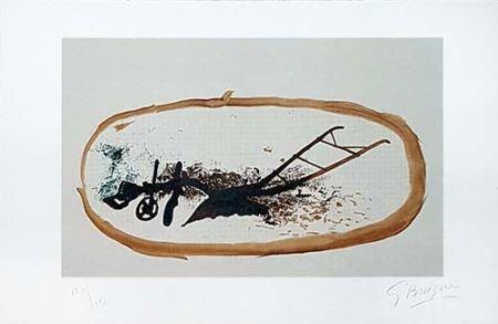 Litografia Braque - La charrue