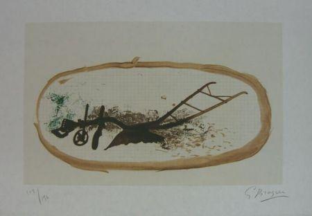 Litografia Braque - La Charrue (el arado)