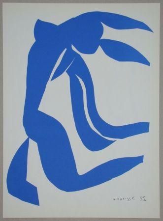 Litografia Matisse - La Chevelure