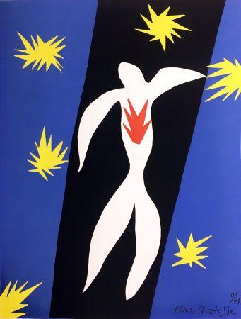 Litografia Matisse - LA CHUTE D'ICARE (Pour la revue Verve n°13, 1945)