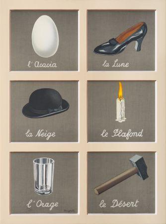 Litografia Magritte - La Clé Des Songes
