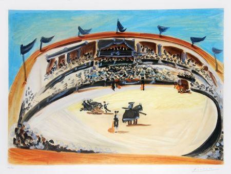 Acquatinta Picasso (After) - La corrida