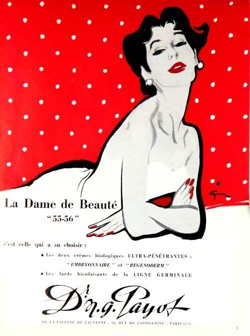 Offset Gruau - La Dame de Beauté