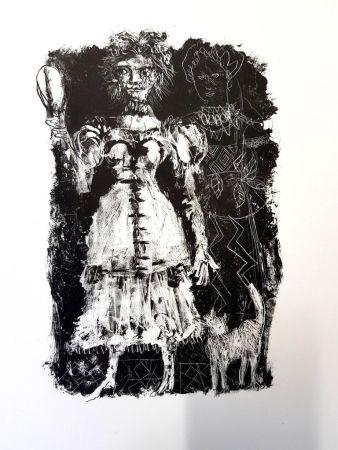 Litografia Clavé - La Dame de Pique de Pouchkine