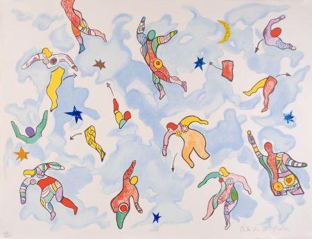 Litografia De Saint Phalle - La danse éclatée