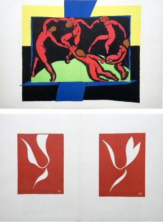 Litografia Matisse - LA DANSE (D'après le célèbre tableau d' Henri Matisse)