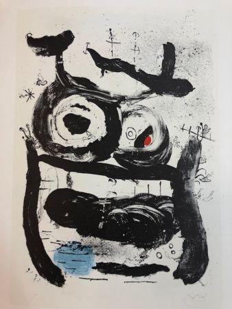 Litografia Miró - La Emperatriz