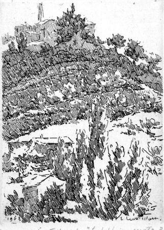 Acquaforte Castellani - La fabbrica vuota