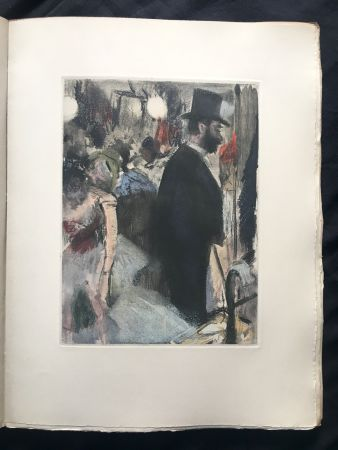 Libro Illustrato Degas - LA FAMILLE CARDINAL.  (Ludovic Halévy). 1938