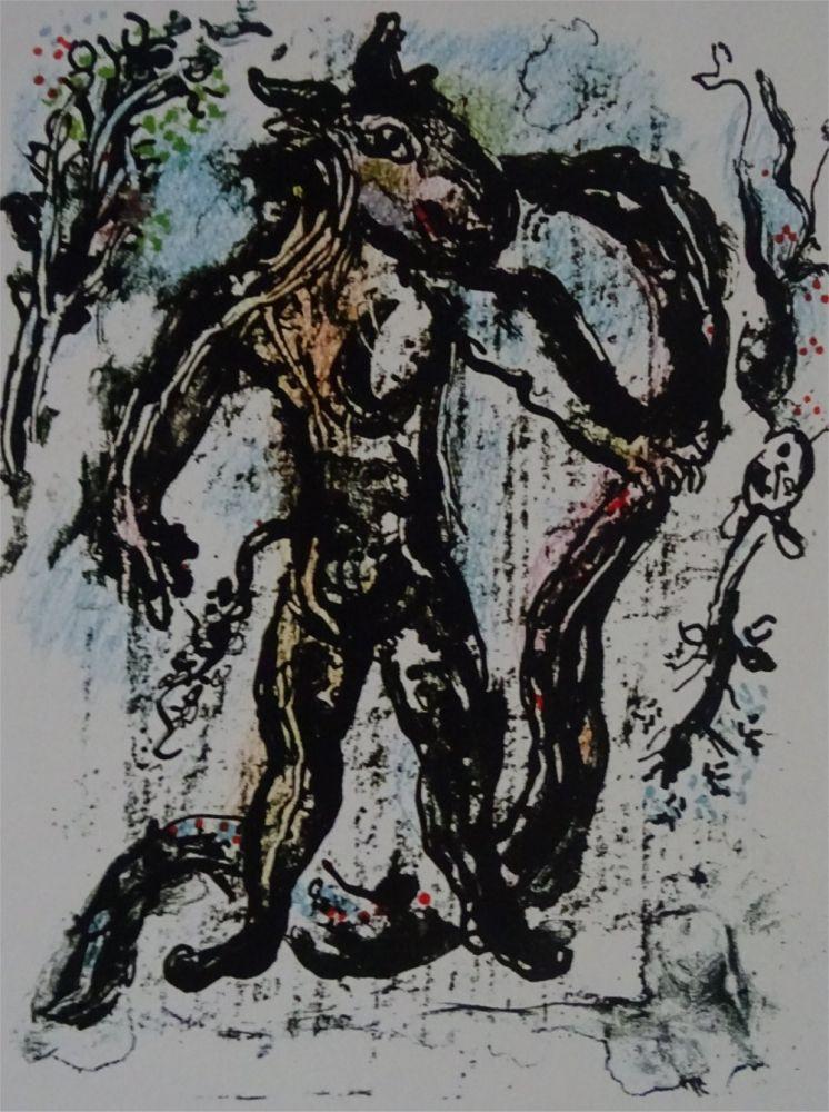 Litografia Chagall - La Feerie et le Royaume, planche 2