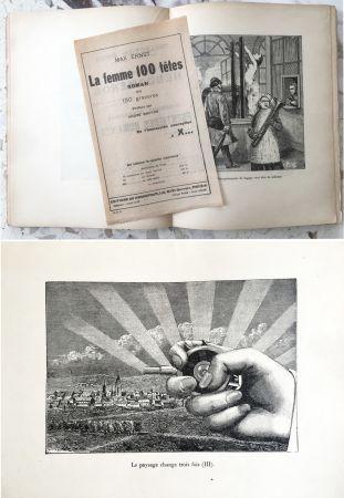 Libro Illustrato Ernst - LA FEMME 100 TÊTES. Paris, 1929