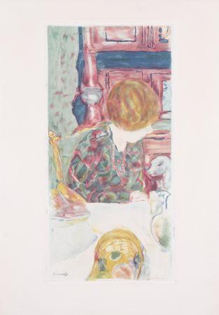 Acquatinta Bonnard - La Femme au chien
