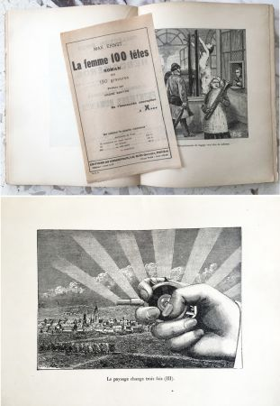 Libro Illustrato Ernst - LA FEMME SANS TÊTE. Paris, 1929