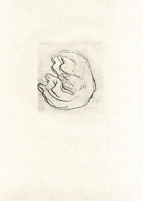 Acquaforte Fautrier - La femmes aux seins