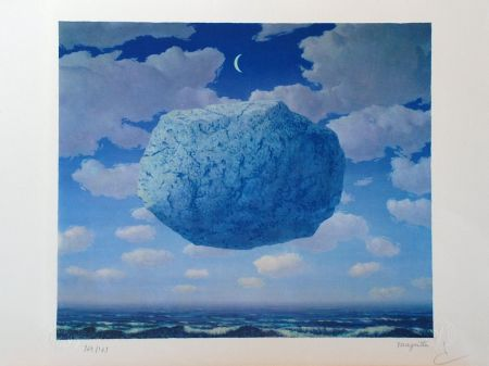 Litografia Magritte - La Flèche de Zénon