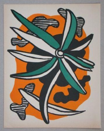 Litografia Leger - La Fleur