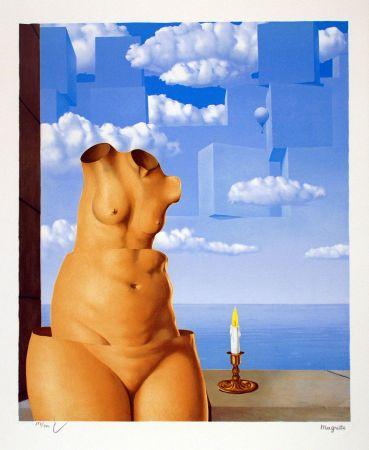 Litografia Magritte - La Folie des Grandeurs II