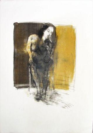 Litografia Hohler - La Fumeuse