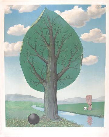 Litografia Magritte - La Géante