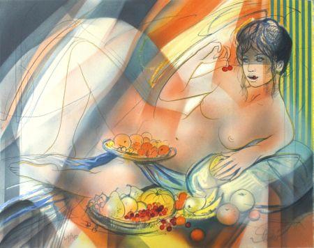 Litografia Valadie - La Gourmandise