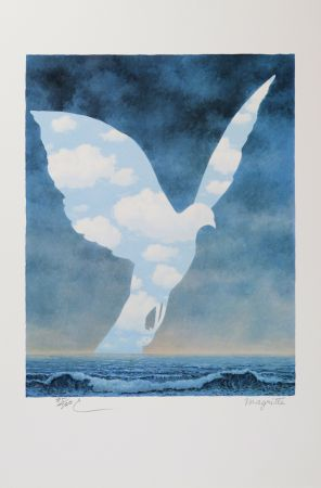 Litografia Magritte - La Grande Famille