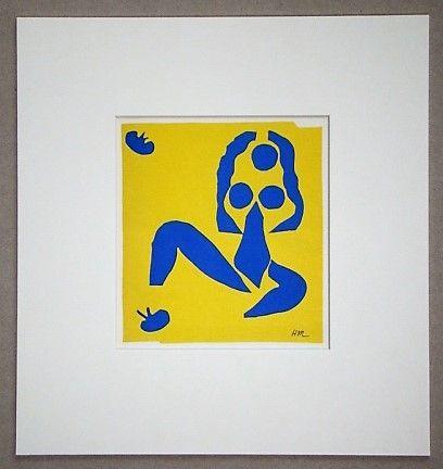 Litografia Matisse - La grenouille